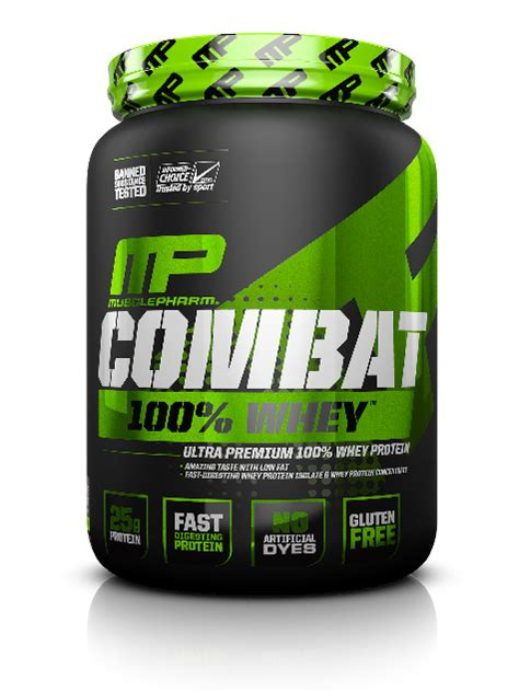 whey protein combat combat 100 whey musclepharm sports science institute