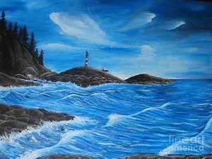 Ocean Landscape by Rosanna Hardin