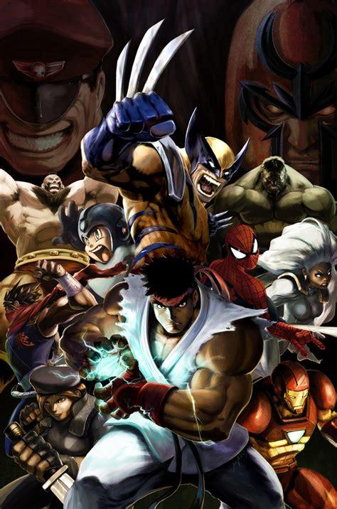 Marvel Vs Capcom 2 Promo By Udoncrew On Deviantart