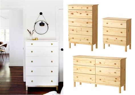 cuisine pin massif customiser la commode tarva ikea joli place