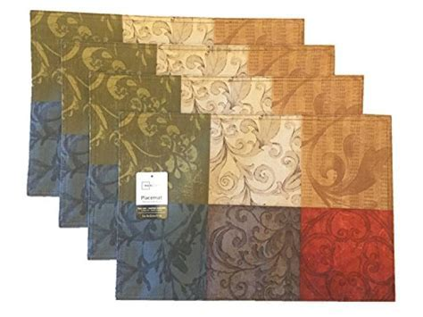 Mainstays Tuscany Kitchen Collection   Fabric Placemats