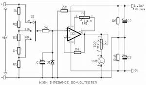 elec circuit dc volt meter circuit With dc voltmeters