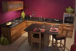 Cuisine En Teck : meubles de cuisine en teck massif collection kayumanis ~ Edinachiropracticcenter.com Idées de Décoration