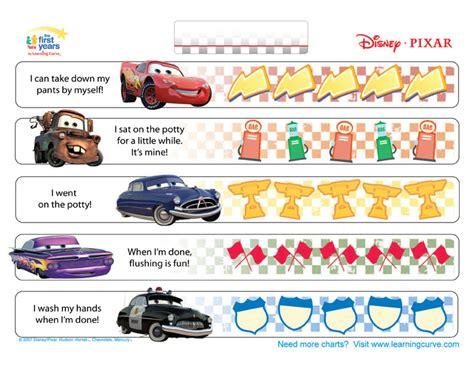 cars potty training chart potty training concepts