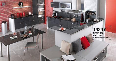 cuisine lapeyre carat photo 10 20 couleur graphite