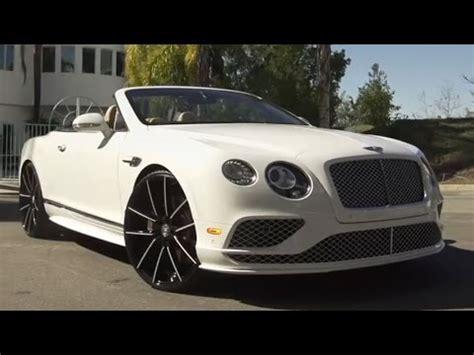 bentley continental gt  lexani wheels youtube