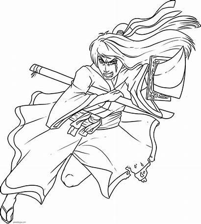 Samurai Anime Japanese Draw Drawn Step Dibujos