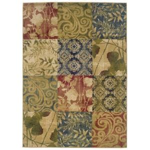 rug for kitchen floor evanston meadow multi 3 ft x 5 ft area rug 288687 the 4949