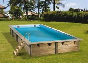 Grande Piscine Hors Sol : piscine hors sol en bois mon comparatif ~ Premium-room.com Idées de Décoration