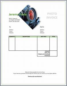 photography invoice template free invoice templates With freelance photography invoice template