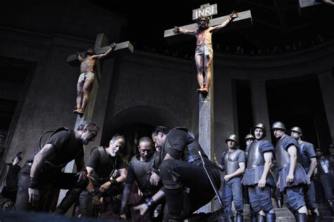 oberammergau passion play  temple world