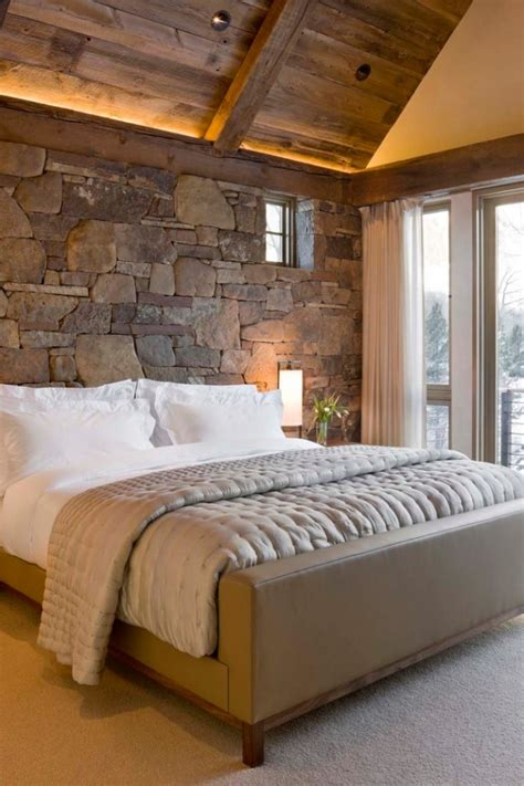 bedroom rustic cozy interior designs winter source