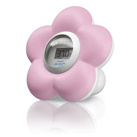 thermomètre fleur bain et chambre de philips avent