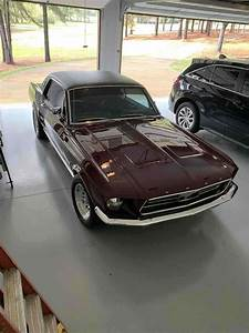 1967 Ford Mustang Sportscar Red Fwd Automatic For Sale