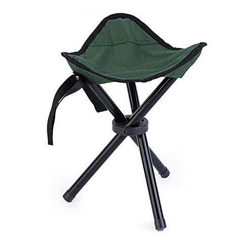 mini portable outdoor folding tripod chair