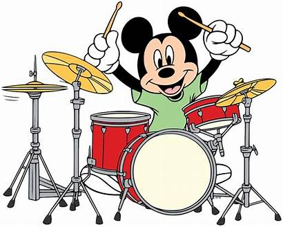 Mickey Mouse Drums Clip Playing Disneyclips Disney