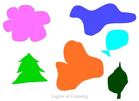 free form shapes shape layers of learning