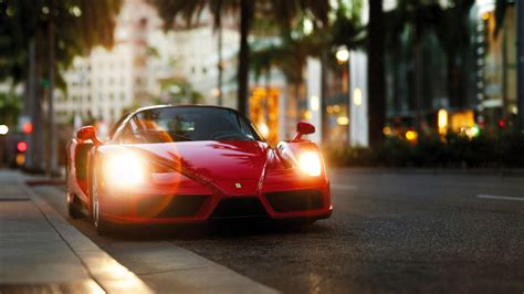 Ferrari Enzo Red, Hd Cars, 4k Wallpapers, Images