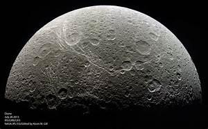 NASA's Cassini Orbiter Bids Farewell to Saturn's Icy Moon...