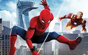 Spider Man: Homecoming Iron Man Wallpaper