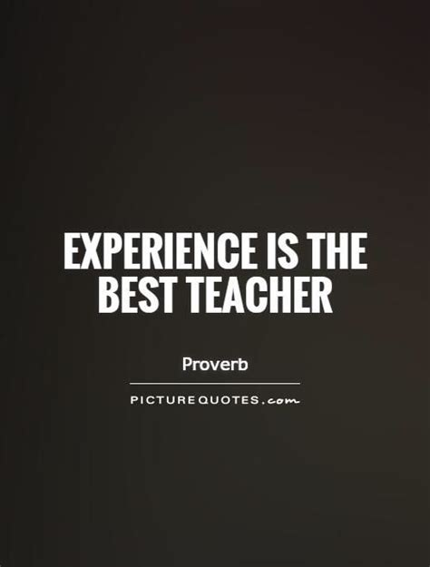 experience    teacher picture quotes