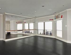 Cool Ballet Barre Convention Dallas Traditional Home Gym