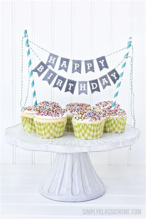 printable chalkboard letters cake bunting