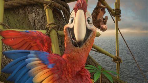 wallpaper robinson crusoe parrot  animation movies