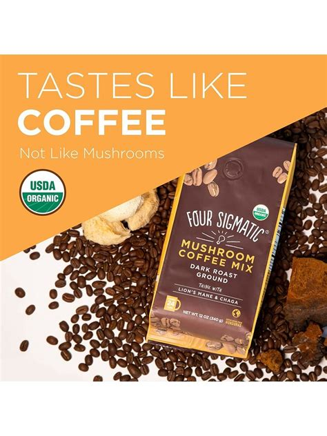 There are a lot of products from four sigmatic and i look forward to trying more. Four Sigmatic Mushroom Coffee, Lion's Mane, Ground - Nuts 'n Berries Healthy Market