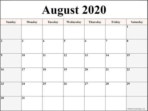 blank calendar template june july august