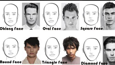 famous hairstyles  men   face shape