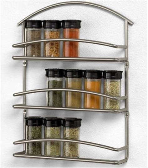 Contemporary Spice Rack by Modern Kitchen Accessories For Spices Storage