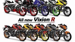 All New Vixion R Modif Striping Part1