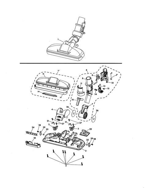 kenmore elite model  vacuum canister genuine parts
