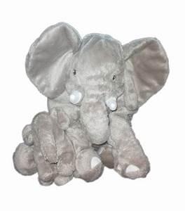 Peluche Elephant Geant : peluche doudou elephant gris kapplar elefant ikea 30 cm et son b b ~ Teatrodelosmanantiales.com Idées de Décoration