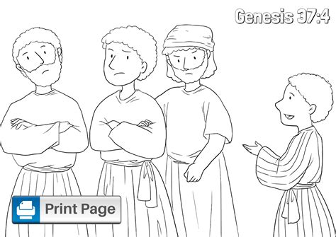joseph   brothers coloring pages  kids connectus