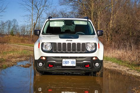 hyper green jeep review 2017 jeep renegade trailhawk canadian auto review