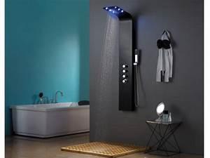 Colonne De Douche Design : colonne de douche hydromassante thermostatique leds solaria 22 160cm ~ Preciouscoupons.com Idées de Décoration