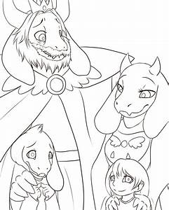 undertale coloring pages - undertale collab family by randomcomicsheet on deviantart