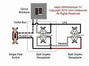 Duplex Outlet Wiring Diagram