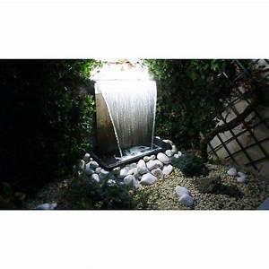Lame D Eau Bassin : kit complet lame d 39 eau niagara 60 cm avec led et bassin ~ Premium-room.com Idées de Décoration