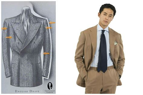 Suit Drape - what are the differences among italian and