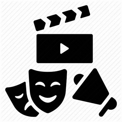 Actor Icon Clipart Getdrawings Bw