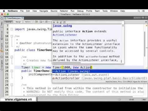 Java Swing Timer Demo Youtube
