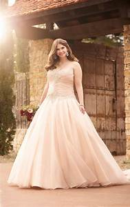 wedding gowns plus size pink princess wedding dress With pink wedding dress plus size