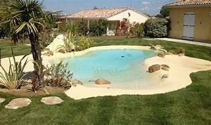 la piscine a plage immergee s39invite chez vous With piscine avec plage immergee