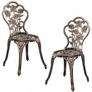 casapro table2 chairs cast iron antique bronze bistro With französischer balkon mit garten kugelleuchten 3 set