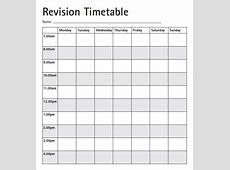 Timetable Template 9+ Download Free Documents in PDF , Excel