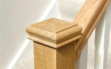 banister post tops oak newel post caps stair parts