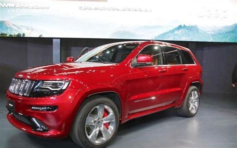 jeep grand cherokee srt red jeep car pictures images gaddidekho com